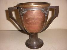 ANTIQUE 1920`s HEINTZ STERLING BRONZE VANDERBILT CUP TENNIS TROPHY EASTHAMPTON