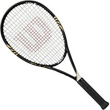 New Wilson  BLX Two 110 Basalt OS tennis racket 1/4 3/8 black/ gold/white $230