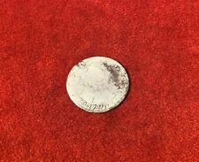 1782 Revolutionary War Era Spanish Silver 4 Real Coin Found In Williamsburg Va
