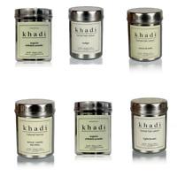 Khadi Natural Herbal Hair Colour 150gm Black, Dark brown, nut brown,light brown
