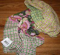 NWT Vera Bradley Olivia Pink Wool Scarf Lightweight  RARE HTF!!! MSRP $62