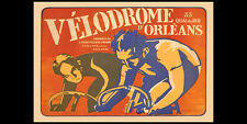 VELODROME D'ORLEANS 1930 Vintage Cycling Premium POSTER 24x36 Gallery Reprint