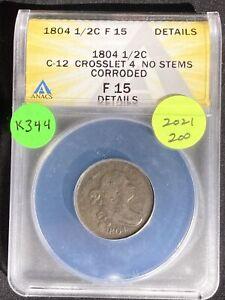 1804 Half Cent K344