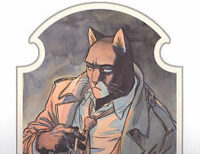 Juanjo Guarnido- BLACKSAD Signed Limited Edition ART Print
