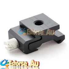 """Hot Shoe Flash Stand Adapter with 1/4""""-20 Tripod Screw"""