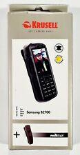KRUSELL Cover Handy-Tasche + Multiadapt Leder für Samsung B2700 Schutz-Hülle OVP