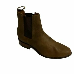 Men Genuine Cowhide Shorty Ankle Boots Handcrafted