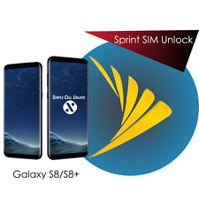 Samsung Galaxy S8, S8+ Active Sprint Boost US Cellular SIM Unlock Remote Service
