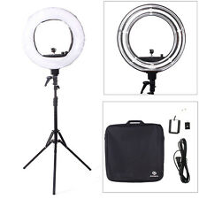 """Rocomoco 18"""" 5500K Ring Light Dimmable Continuous Lighting Photo Video Stand Kit"""