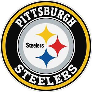 Pittsburgh Steelers Decal ~ Car / Truck Vinyl Sticker - Cornholes, Wall Graphics
