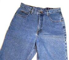 Womens Eddie Bauer Retro USA Blue Jeans Size 12 Classic Denim Pants Tapered Leg