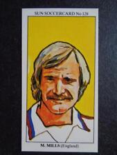 LE SOLEIL soccercards 1978-79 - MICK MILLS - ANGLETERRE #128