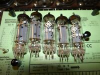 5 x E-Röhre WF ECC 960 Tube alle um 15 mA Valve auf Funke W19 geprüft BL-2044