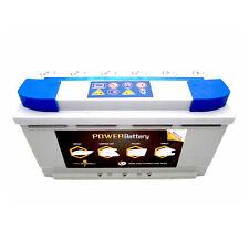 Batterie stationnaire solaire prête à l'emploi à décharge lente 12v 105ah AGM