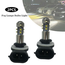 2PCS 12V 50W Cree Chips 881 894 889 LED Fog Light Bulb Daytime Running Projector