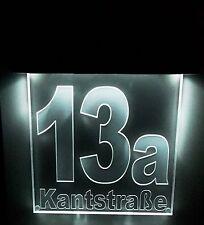 Solar Hausnummer, 13a in dunkelgrau oder gefertigt nach Kundenwunsch
