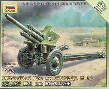 Zvezda 1/72 Figures - Soviet 122mm Howitzer Z6122