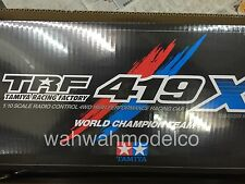 Tamiya 1:10 TRF419X 4WD RC Cars Touring On Road Chassis Kit EP #42301