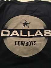 NFL Dallas Cowboys De Manga Larga camiseta Grande Vintage por Team Nike 2001