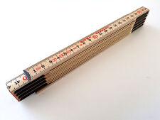 Qualitäts Zollstock Slimboy 2m Gliedermaßstab Schmiege Meterstab natur Meterstäb