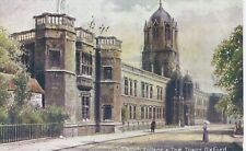 Postcard - Christchurch College & Tom Tower Oxford Oxfordshire posted 1906