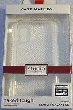 NEW Original Case-Mate Naked Tough Clear Cover Case for Samsung Galaxy