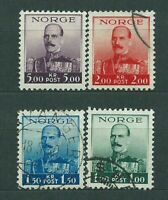 Norway - Mail 1937-8 Yvert 183/6 or Character