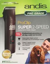 NEW Andis AGC-2 AGC2 Super 2-SPEED Animal 4X4 Dog Animal Pro Clipper 22360