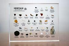 Heritage Personal Museum | (Includes: Meteorites, Fossils, etc...)