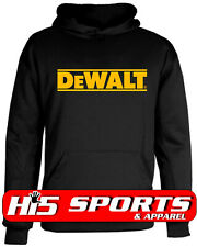 DeWalt Tools Hoodie DeWalt Sweatshirt Professional Construction Tools Size S-5XL