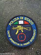 PATCH POLIZIA - UNITA' OPERATIVA DI PRIMO INTERVENTO