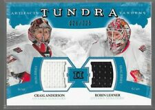 11/12 Artifacts Tundra Tandems Jersey Anderson Lehner /225 TT2-CR Senators