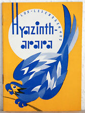 Lux-Lesebogen 403 - HYAZINTH-ARARA