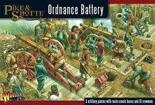 Warlord Pike & Shotte - Ordnance Battery 28mm ECW TYW Artillery