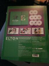 Elton John Jewel Box 8 CDs.  Discs unplayed but ripped only. Boxset. Like New.