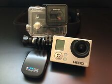 GoPro Hero 3 White Edition (Silver) with accessories