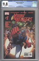 Young Avengers #1 CGC 9.8 (Marvel 2005) 1st Kate Bishop (Hawkeye) and Wiccan