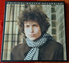 Sealed - Bob Dylan Blonde On Blonde 3Lp Mfsl 180 Gram 45 Rpm Vinyl Box Set #289