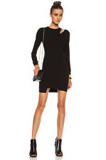 Edgy Chic IRO Polina Acetate Blend Exposed Zipper Dress 40