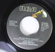 Country 45 John Denver - To The Wild Country / How Can I Leave You Again On Rca