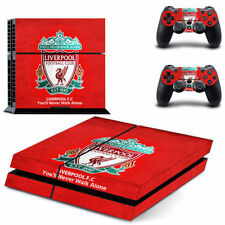 Liverpool Football Skin Vinyl PS4 Playstation 4 Full Console & 2 Controller - UK