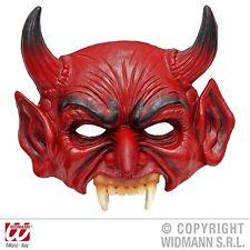 Kinnlose Teufelsmaske Schaum-Latex-Maske Teufel Dämon Luzifer Erwachsene