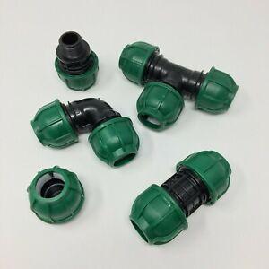 Raccordi a compressione per tubo PE irrigazione CONNECTO