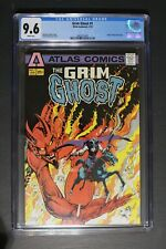 GRIM GHOST #1 ORIGIN 1st Atlas/Seaboard 1975 FLEISHER COLON TV Movie CGC NM+ 9.6