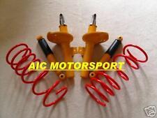 Peugeot 206 kit suspension ressorts amortisseurs sport
