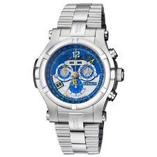 New Mens Renato T-rex Gen II 52mm Day Date Calendar Swiss Chronograph Blue Watch