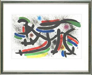 Joan Miro, Original Lithogr., ORIGINAL Graphic, (O.T. (Sternschnuppen), 1972