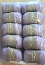 10 X 50g Sublime Baby Cashmere Merino Silk 4ply Wool for Knitting/crochet Sh359