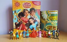 DISNEY Elena of avalor My Busy + 12 caratteri BOOK STATUETTE & Playmat