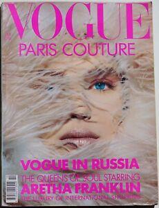 XXL Paris Couture fashion 1990 Vogue Dior Tyen Mugler Azzedine Alaia fashion